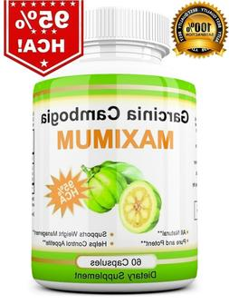 100% Pure Garcinia Cambogia 3,000mg 95% HCA Weight Loss Fat