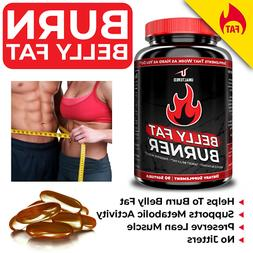 CLA Belly Fat Burner Pills - Stomach Weight Loss Supplement