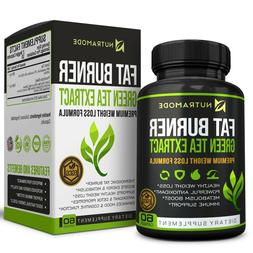 Green Tea Fat Burner Supplement with EGCG, Thermogenic Diet