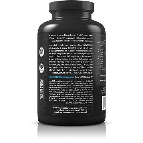Fat Burner Thermogenic Weight Loss Appetite Suppressant - 100% Formulation Naringin, More