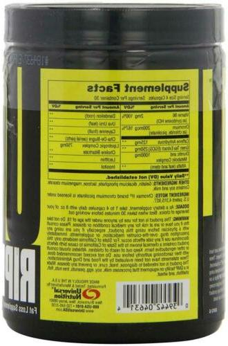Universal Ripped Fast Thermogenic Fat 120