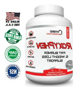 RoxyPhen Best Thermogenic Fat Burner & Weight Loss Supplemen