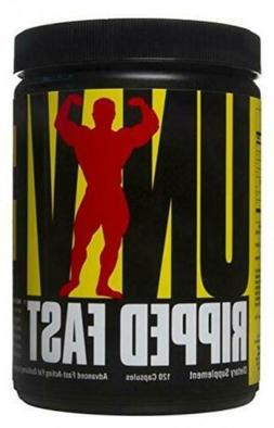 universal ripped fast thermogenic fat burner weight